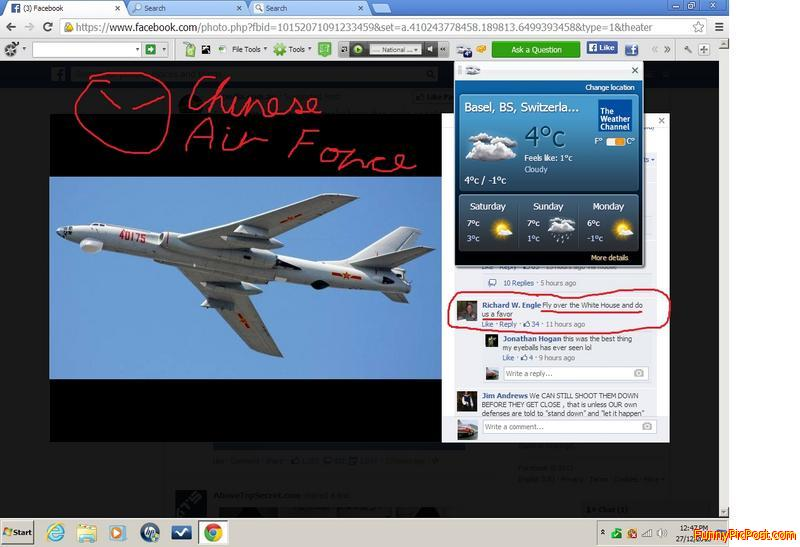 "Circled  in  red ... "" Fly  over  The  White  Hous"
