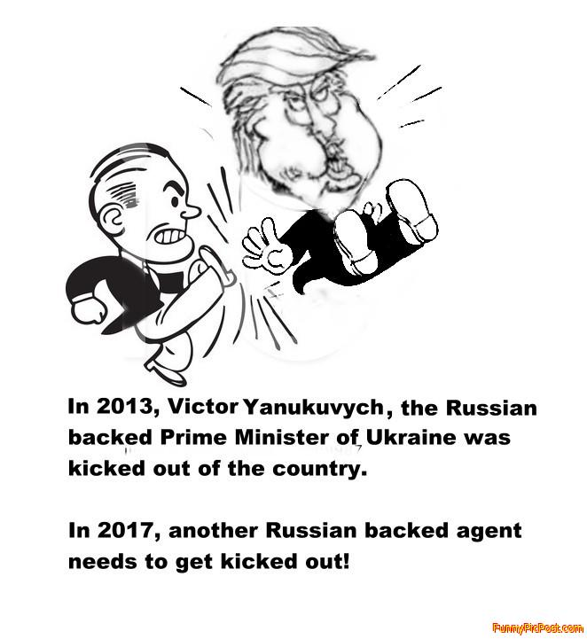 Russian backed agent