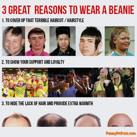 3 Great Reasons To Wear A Beanie
